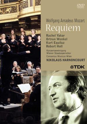 Mozart: Requiem - Vienna Staatsopernchor (Harnoncourt) (1981) (Retail / Rental)