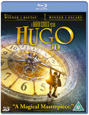 Hugo (2011) (Blu-ray) (3D Edition with 2D Edition) (Retail / Rental)
