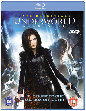 Underworld: Awakening (2012) (Blu-ray) (3D Edition with 2D Edition) (Retail / Rental)