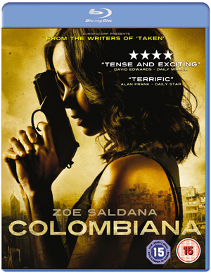 Colombiana (2011) (Blu-ray) (Retail / Rental)