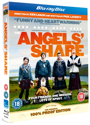 The Angels' Share (2012) (Blu-ray) (Retail / Rental)