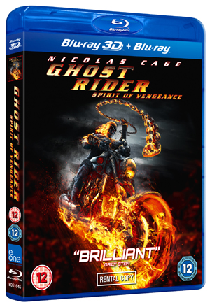 Ghost Rider: Spirit of Vengeance (2012) (Blu-ray) (with 3D Version) (Rental)