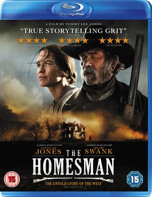 The Homesman (2014) (Blu-ray) (Retail / Rental)