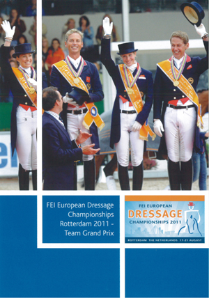 FEI European Championship: Dressage - Rotterdam 2011 - Team... (2011) (Retail / Rental)