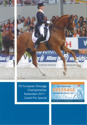 FEI European Championship: Dressage - Rotterdam 2011 - ... (2011) (Retail / Rental)