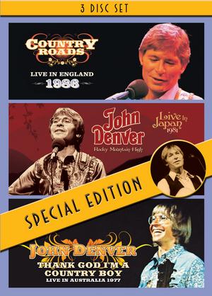 John Denver: England, Japan, Australia (1986) (Box Set) (Retail Only)