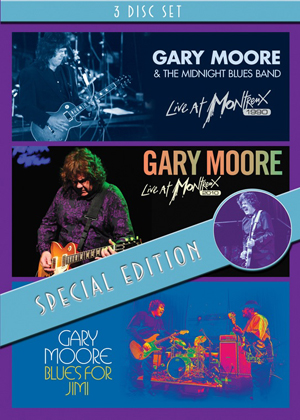 Gary Moore: Live at Montreux 1990/Live at Montreux 2010/Blues... (2010) (Box Set) (Retail Only)