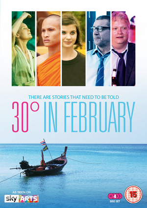 30 Degrees in February (2012) (Retail / Rental)