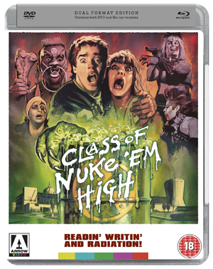 Class of Nuke 'Em High (1986) (Blu-ray) (with DVD - Double Play) (Retail / Rental)