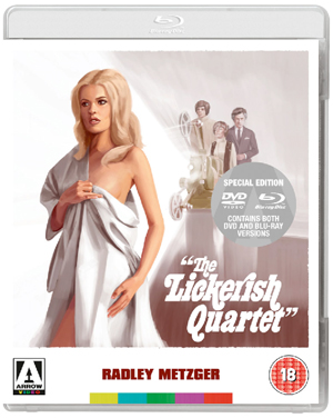 The Lickerish Quartet (1970) (Blu-ray) (with DVD - Double Play) (Retail / Rental)