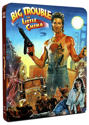 Big Trouble in Little China (1986) (Blu-ray) (Steel Book) (Retail / Rental)