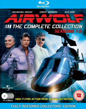 Airwolf: Series 1-3 (1986) (Blu-ray) (Box Set) (Retail Only)