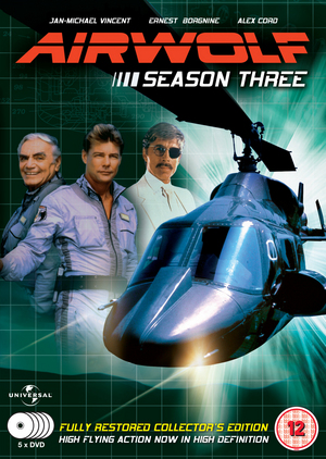 Airwolf: Series 3 (1986) (Box Set) (Retail Only)