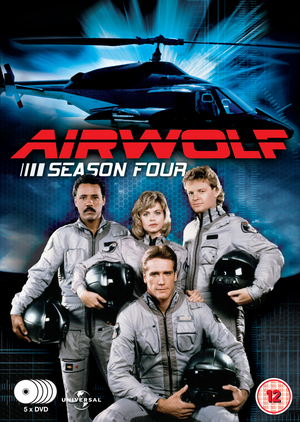Airwolf: Series 4 (1987) (Retail / Rental)