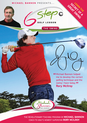 Six Step Golf Lesson - The Swing (2009) (Retail / Rental)