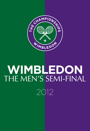 Wimbledon: 2012 - Men's Semi-final - Murray Vs Tsonga (2012) (Pulled)