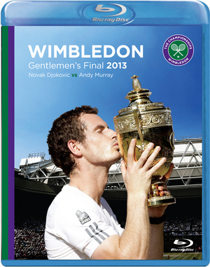 Wimbledon: 2013 - Men's Final - Murray Vs Djokovic (2013) (Blu-ray) (Retail / Rental)