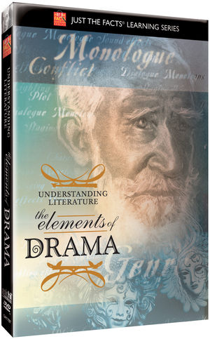 Just the Facts: Understanding Literature - The Elements of Drama (Retail / Rental)