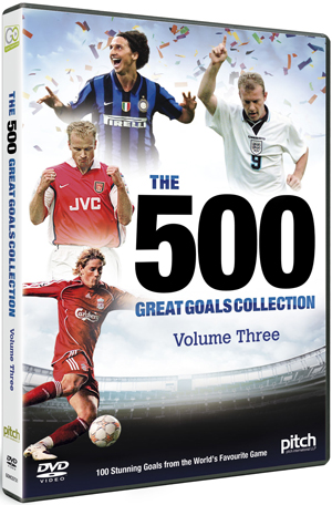 The 500 Great Goals Collection: Volume Three (2012) (Retail Only)