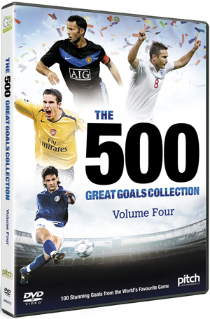 The 500 Great Goals Collection: Volume Four (2012) (Retail Only)