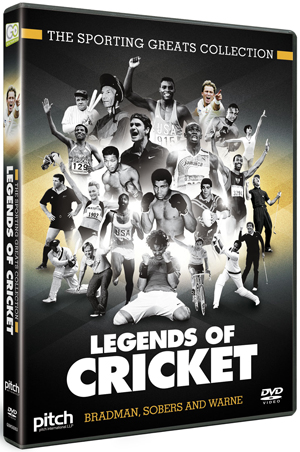 Legends of Cricket: Bradman, Sobers and Warne (2012) (Retail Only)