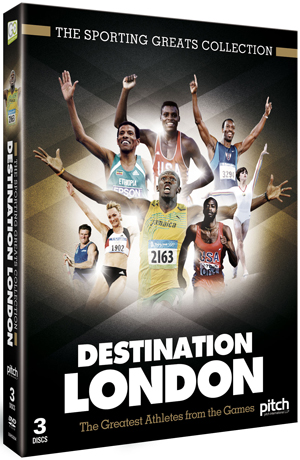 Destination London: The Greatest Athletes from the Games (2012) (Box Set) (Retail Only)