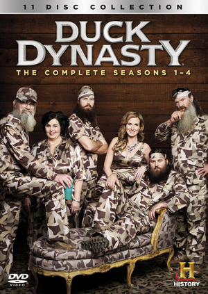 Duck Dynasty: Seasons 1-4 (2012) (Box Set) (Retail Only)