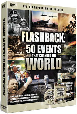 50 Events That Changed the World (With Book) (Retail Only)