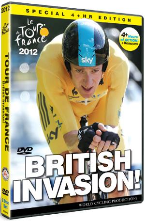 Tour De France: 2012 - British Invasion! (2012) (Retail Only)