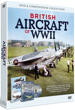 British Aircraft of WWII (With Book) (Retail Only)