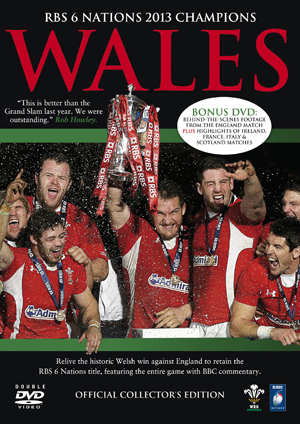RBS Six Nations: 2013 Champions - Wales (2013) (Collector's Edition) (Retail Only)