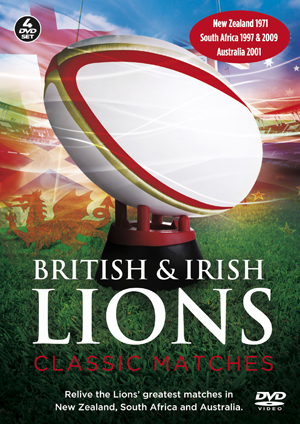 British and Irish Lions: Classic Matches (Retail Only)