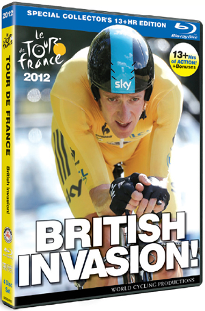Tour De France: 2012 - British Invasion! - Special Edition (2012) (Blu-ray) (Special Edition Box Set) (Deleted)