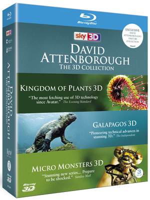 David Attenborough: The Collection (2013) (Blu-ray) (3D Edition) (Retail Only)