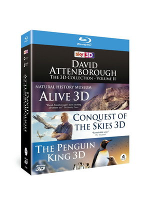 David Attenborough - The 3D Collection: Volume II (2014) (Blu-ray) (3D Edition) (Retail Only)
