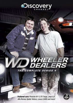 Wheeler Dealers: The Complete Series 4 (2007) (Retail Only)