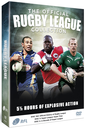 The Official Rugby League Collection (2008) (Retail Only)