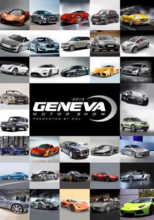 Geneva Motor Show 2013 (2013) (Retail / Rental)