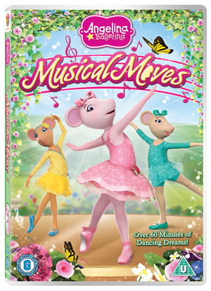 Angelina Ballerina: Musical Moves (2012) (Retail / Rental)