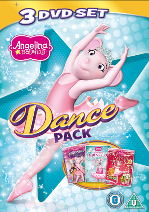 Angelina Ballerina: Dance Pack (2012) (Retail / Rental)