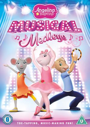 Angelina Ballerina: Musical Medleys (2010) (Retail / Rental)