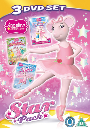 Angelina Ballerina: Star Pack (Retail / Rental)
