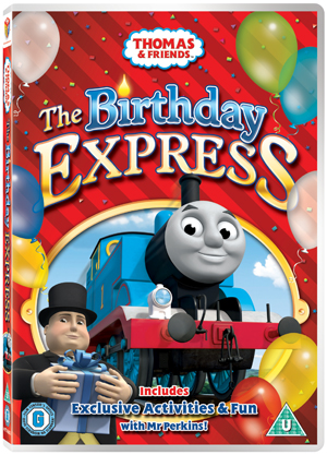 Thomas the Tank Engine and Friends: The Birthday Express (2010) (Retail / Rental)