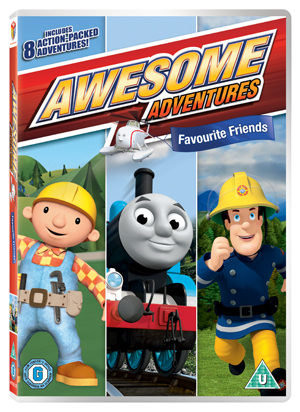 Awesome Adventures: Favourite Friends (2011) (Retail / Rental)