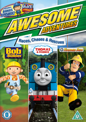 Awesome Adventures: Races, Chases and Rescues (2010) (Retail / Rental)