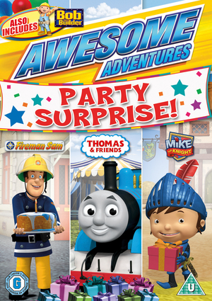 Awesome Adventures: Party Surprise (2013) (Retail / Rental)