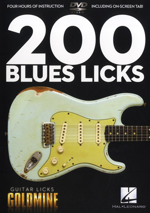 200 Blues Licks (2011) (Retail / Rental)