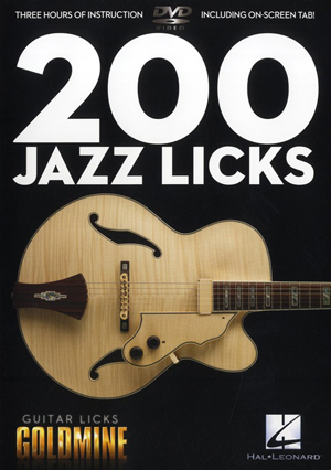 200 Jazz Licks (2011) (Retail / Rental)