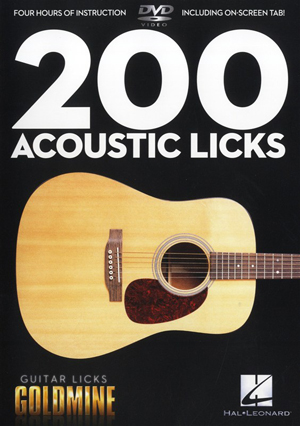 200 Acoustic Licks (2011) (Retail / Rental)