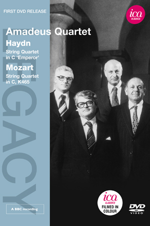 Amadeus Quartet: Haydn/Mozart (1983) (NTSC Version) (Retail / Rental)